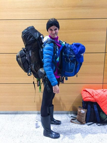 Definitely not an epic travel packing fail. This time's almost pro status!