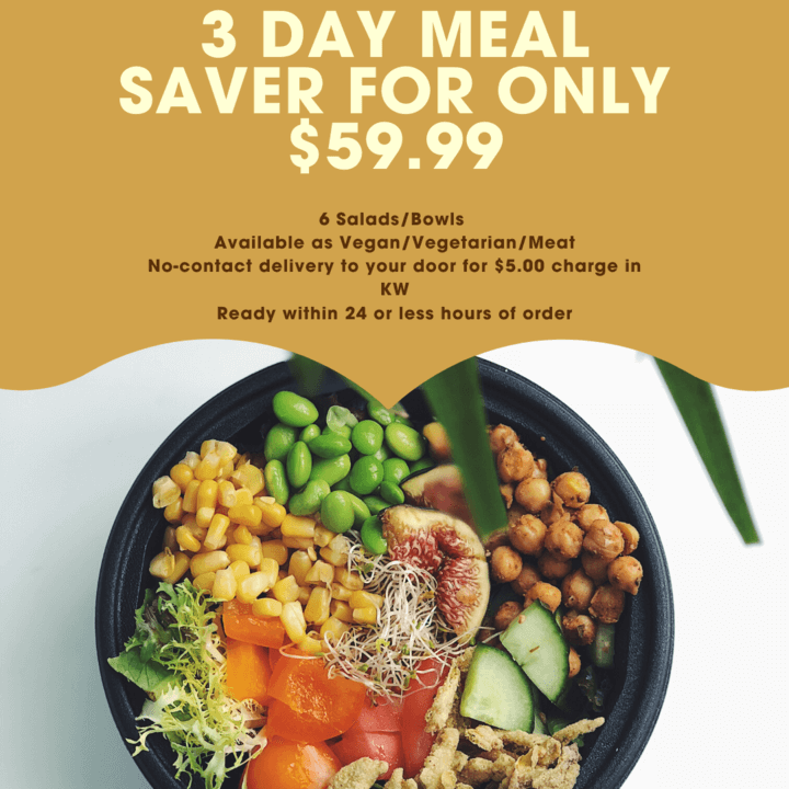 KW's Quantum Greens 3 Day Meal Saver