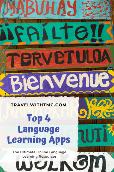 Top 4 Language Learning Apps & Websites