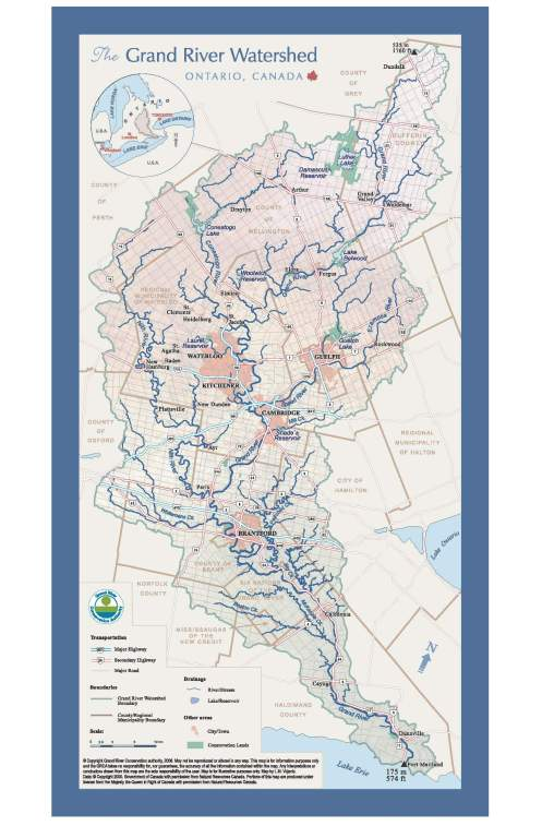 Watershed Map - Grand River.ca