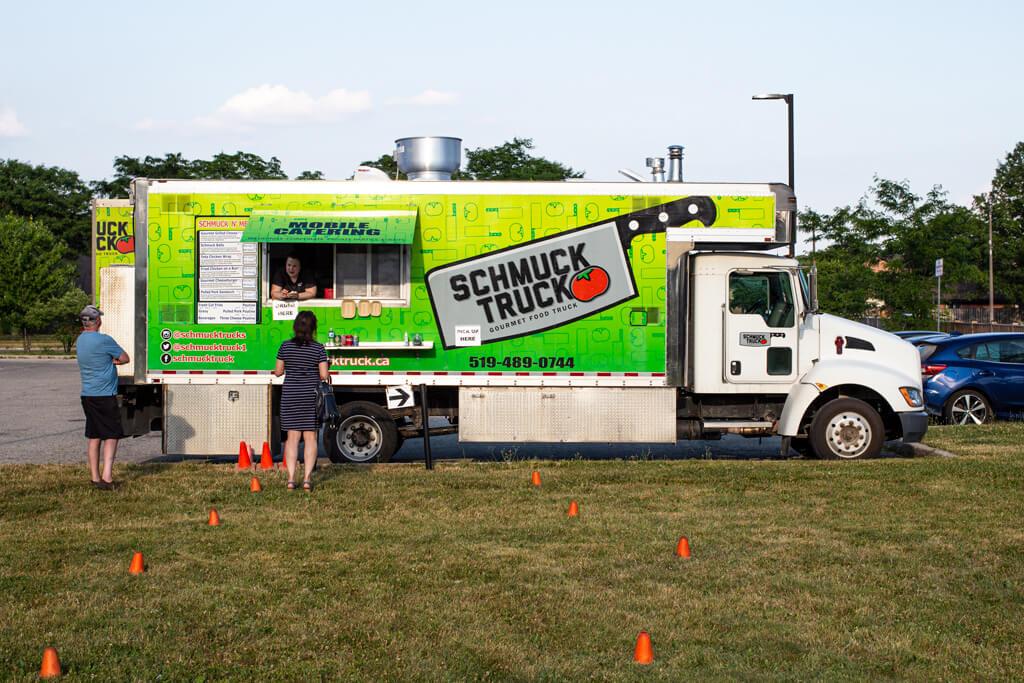 Kitchener's Schmuck Food Truck in Summer 2020