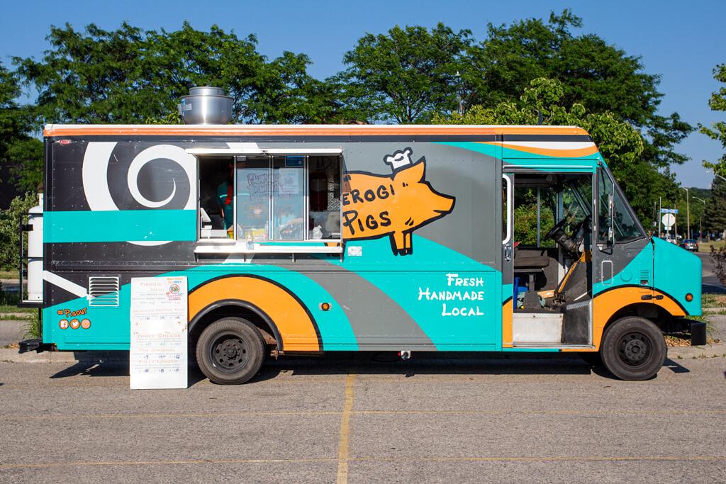 Pierogi Pigs Food Truck Kitchener Summer 2020