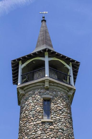 Top Half of Waterloo Pioneer Memorial Tower