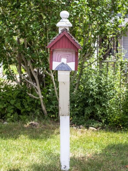 West Montrose Covered Bridge Mailbox