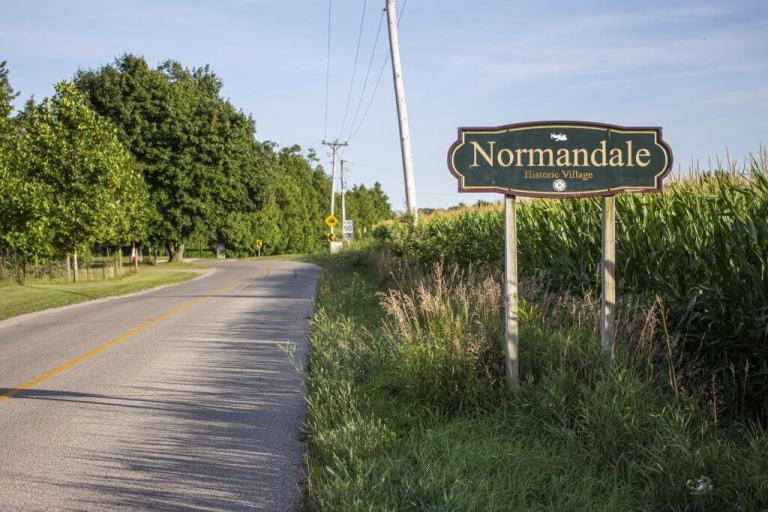 Welcome to Normandale, Ontario Ghost Town