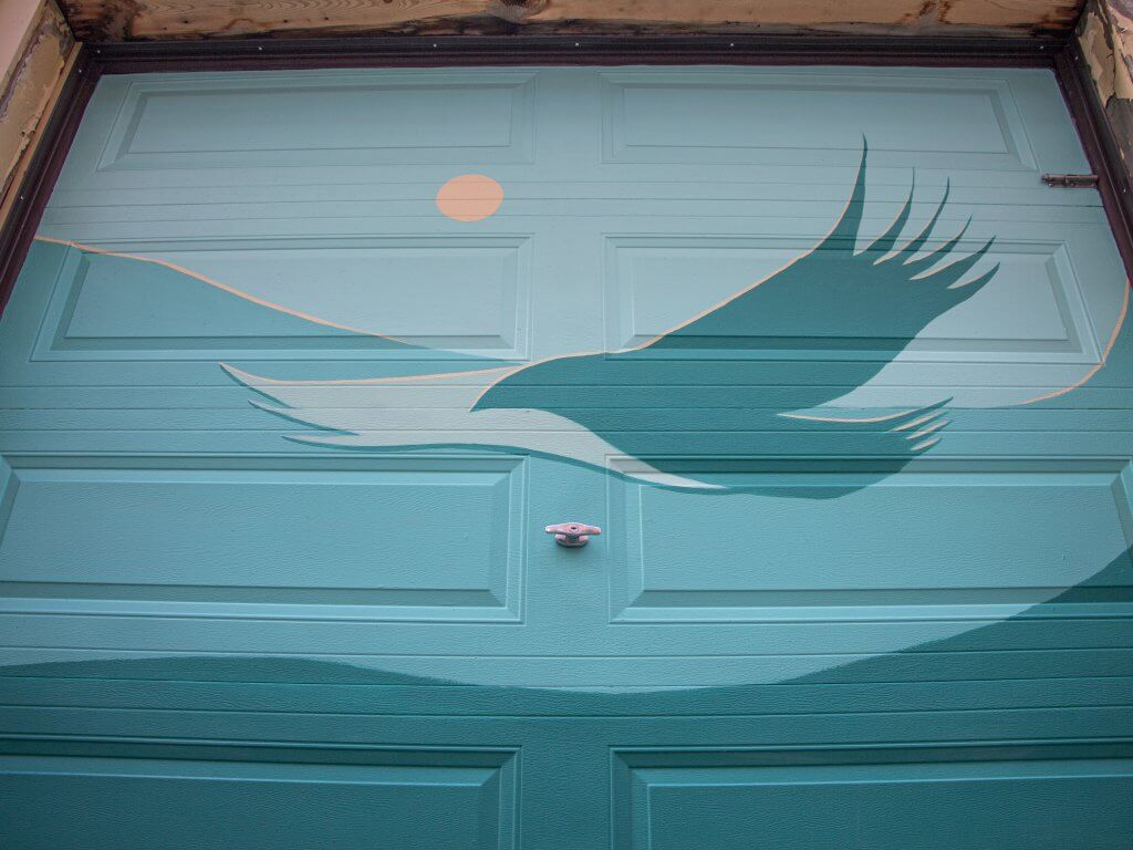 Luke Swinson's Hughes Lane Art Walk Door
