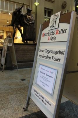 Auerbach's Keller - famous brew cellar