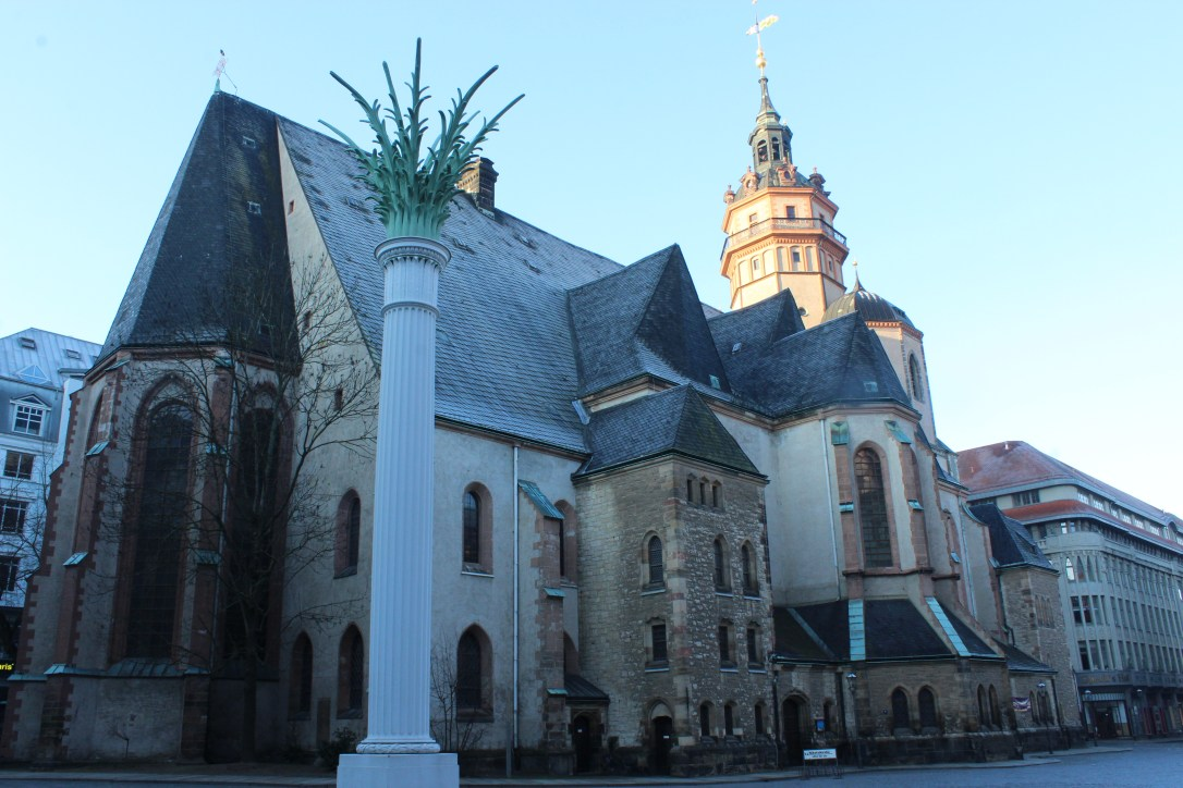 St. Nicholas Marktplatz - historical site of change