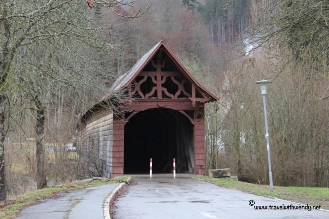 TWW - Beuron gabled covered bridge