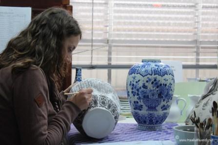 TWW - Delft artist at work