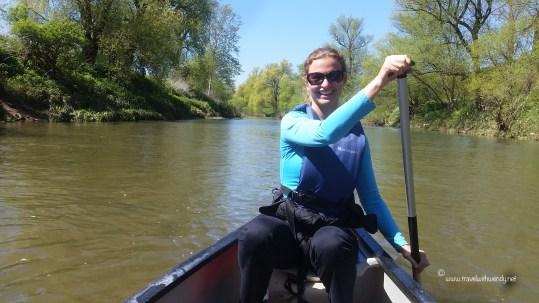 TWW - Janna canoeing