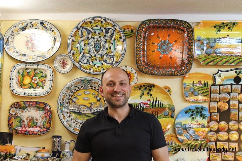 TWW - Gianni pottery San Gimignano