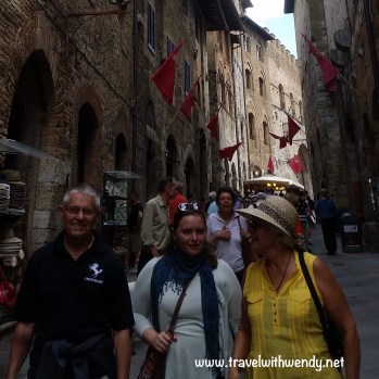 TWW- grands and Katy San Gimignano