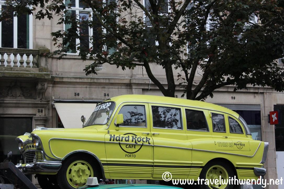 TWW - Hard Rock car Porto