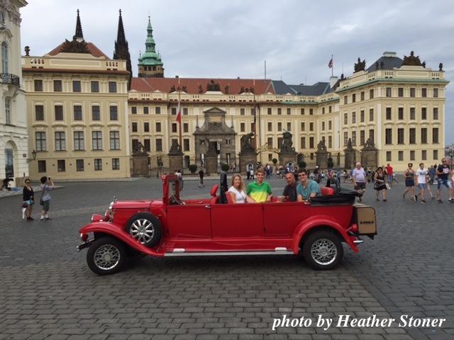 ©TravelwithWendy %22old timey cars%22 Prague www.travelwithwendy.net