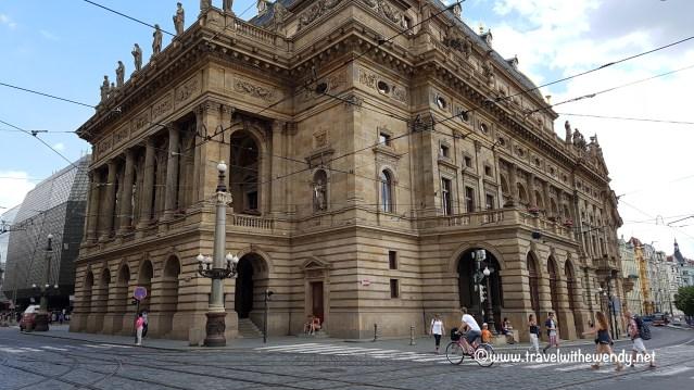 ©TravelwithWendy - National Theatre Prague - www.travelwithwendy.net
