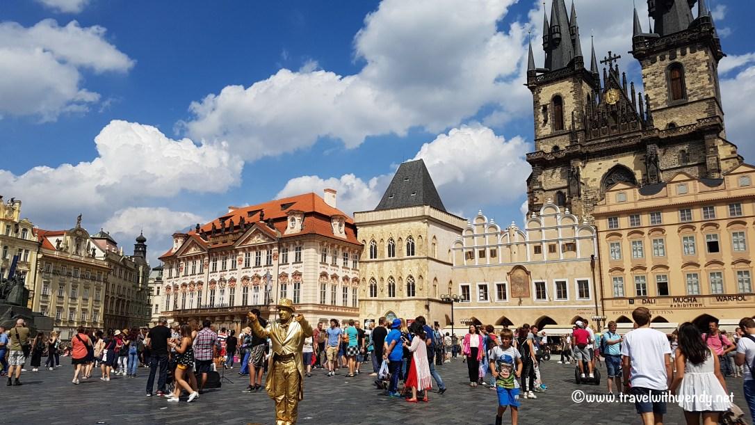 ©TravelwithWendy Old Town Square - Prague www.travelwithwendy.net
