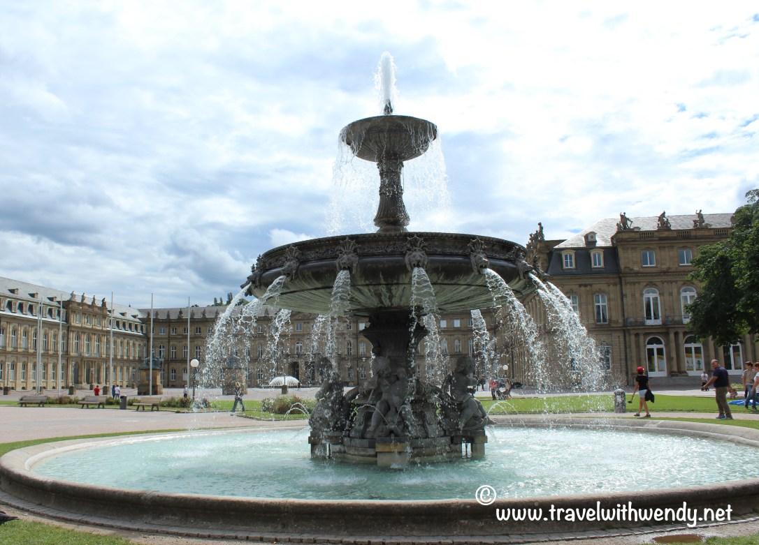 TWW - Stuttgart fountain