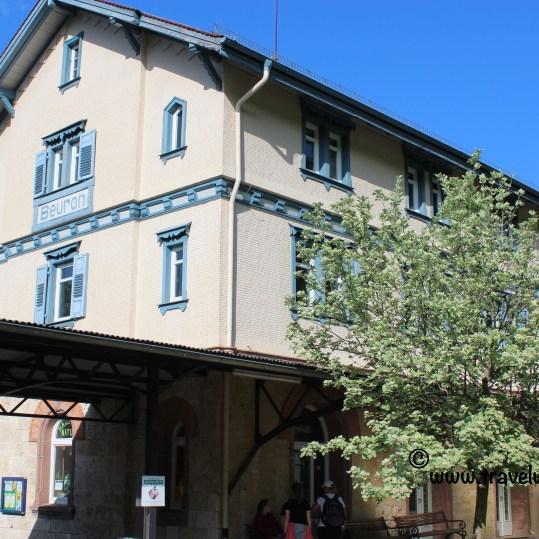 TWW - Train station in Beuron