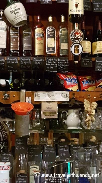 Whiskey Shelf - Dick Mack's