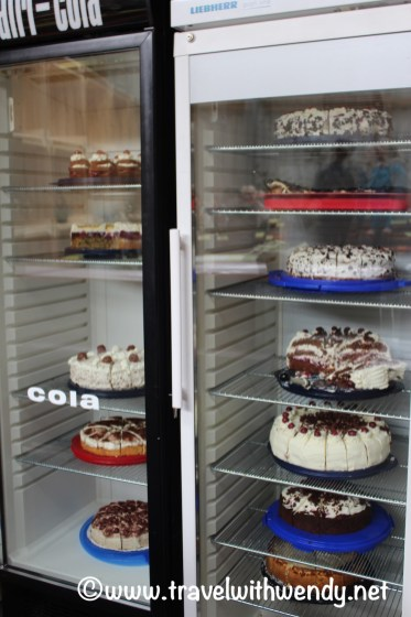 A few Black Forest cakes