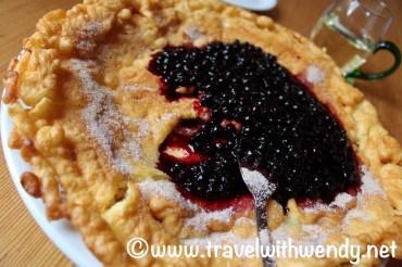 Blueberry pancakes - Bad Wildbad