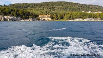 Boat ride through Šibenik