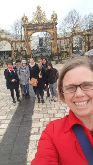 Great tour group in Nancy