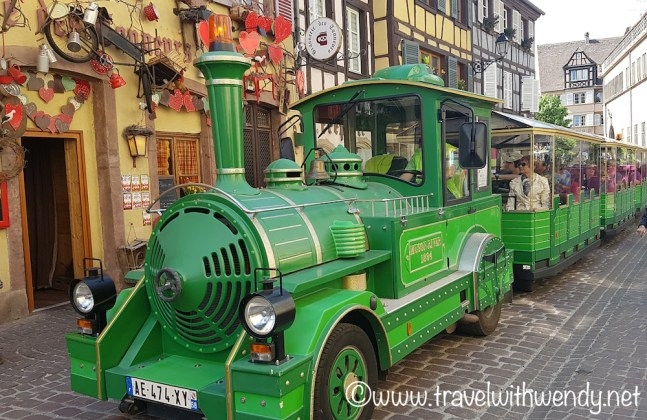 Let's ride the train - Colmar