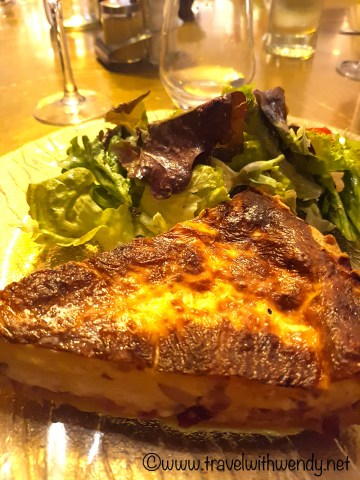 Quiche Lorraine - in Nancy