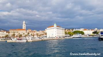 Split - Croatia from the bay