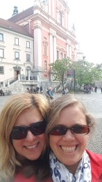 Having fun in Ljubljana