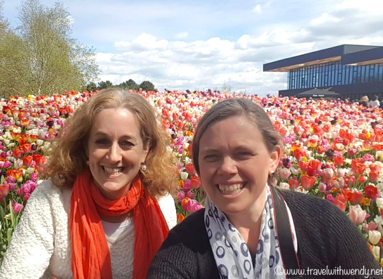 Kim and I enjoying Keukenhof 2017