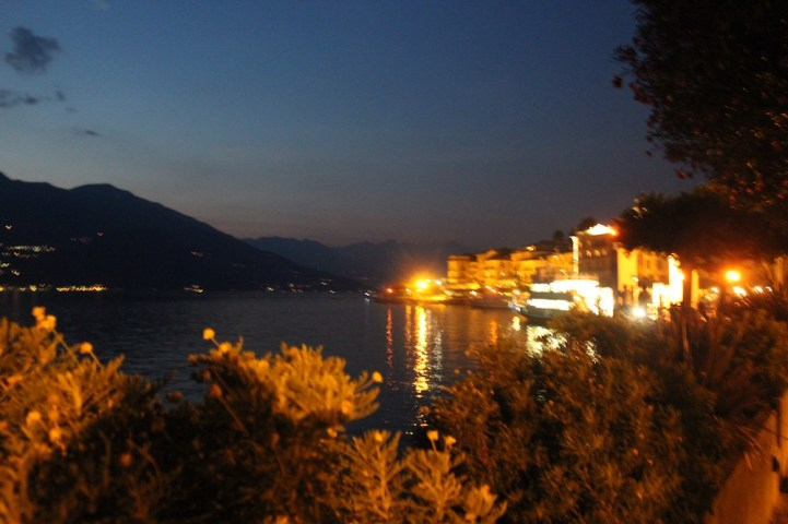 Bellagio at night