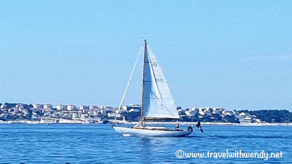 Big sailboat - Piran