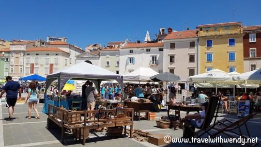 Flea Market in Piran