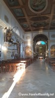 Inside the church of St. George