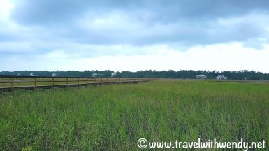 Pawley's Island and the inlet