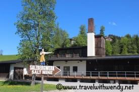 Salzbergwek Salt mine stops