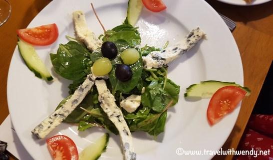 7 Stills - Blue Cheese Salad plate