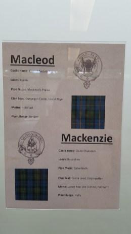 Archive Center ~ Macleod Tartan