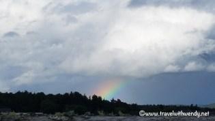 Culloden ~ Rainbow over Culloden
