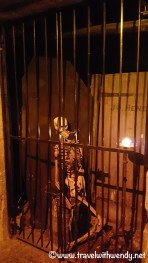 GHOST TOURS - oops someone was bad !