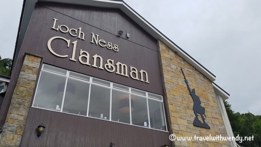 Clansman is where you pick up the Jacobite Ferry