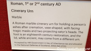 NATIONAL GALLERY - Description of 1AD Urn