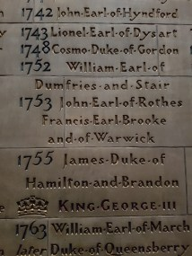 ST. GILES CATHEDRAL - different lineage