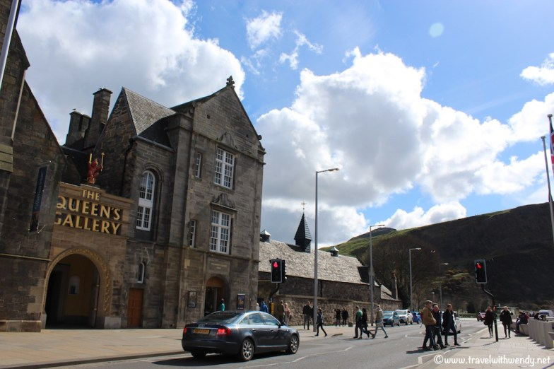 Holyrood Palace of the Queen