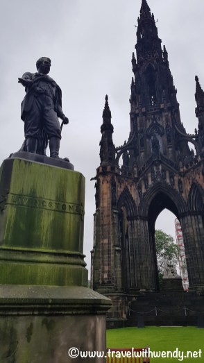 WHAT TO SEE - Sir Walter Scott Memorial