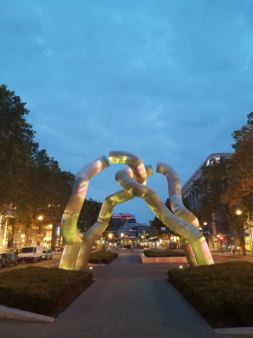 Berlin at Night - 750th Anniversary Art Project - for FREEDOM