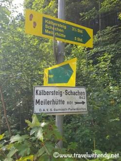 Kälbersteig - Meilerhütte Way